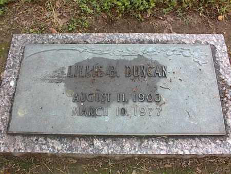DUNCAN, LILLIE B - Crittenden County, Arkansas | LILLIE B DUNCAN - Arkansas Gravestone Photos