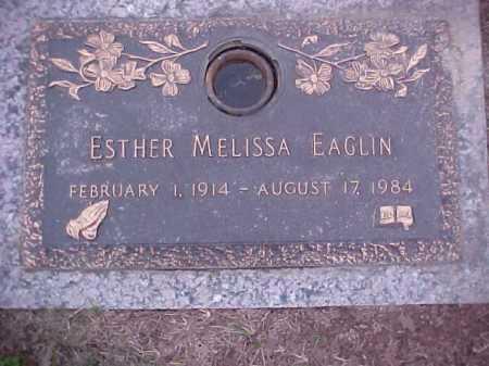 EAGLIN, ESTHER MELISSA - Crittenden County, Arkansas   ESTHER MELISSA EAGLIN - Arkansas Gravestone Photos