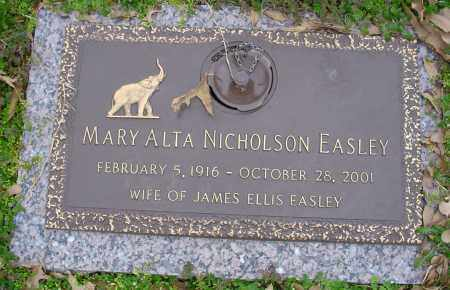 EASLEY, MARY ALTA - Crittenden County, Arkansas | MARY ALTA EASLEY - Arkansas Gravestone Photos