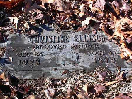 ELLISON, CHRISTINE - Crittenden County, Arkansas | CHRISTINE ELLISON - Arkansas Gravestone Photos