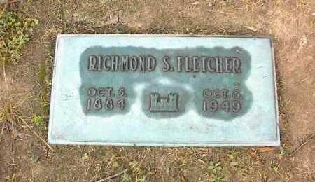 FLETCHER, RICHMOND S - Crittenden County, Arkansas | RICHMOND S FLETCHER - Arkansas Gravestone Photos