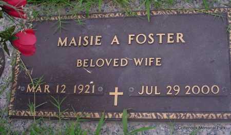 FOSTER, MAISIE A - Crittenden County, Arkansas | MAISIE A FOSTER - Arkansas Gravestone Photos