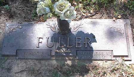 FULLER, SARAH LODEMA - Crittenden County, Arkansas   SARAH LODEMA FULLER - Arkansas Gravestone Photos