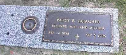 GOACHER, PATSY R - Crittenden County, Arkansas | PATSY R GOACHER - Arkansas Gravestone Photos