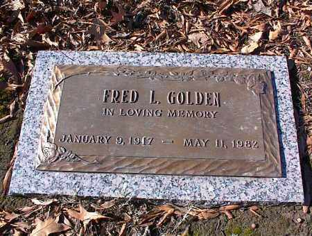 GOLDEN, FRED L. - Crittenden County, Arkansas | FRED L. GOLDEN - Arkansas Gravestone Photos