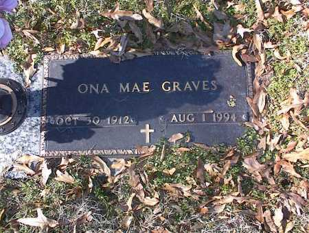 GRAVES, ONA MAE - Crittenden County, Arkansas | ONA MAE GRAVES - Arkansas Gravestone Photos