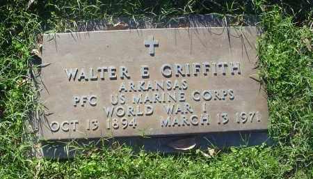 GRIFFITH (VETERANWWI), WALTER E - Crittenden County, Arkansas | WALTER E GRIFFITH (VETERANWWI) - Arkansas Gravestone Photos