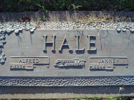 HALE, ALFRED - Crittenden County, Arkansas | ALFRED HALE - Arkansas Gravestone Photos