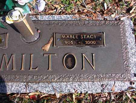 HAMILTON, MABLE STACY - Crittenden County, Arkansas | MABLE STACY HAMILTON - Arkansas Gravestone Photos