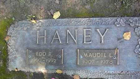 HANEY, MAUDIE L - Crittenden County, Arkansas | MAUDIE L HANEY - Arkansas Gravestone Photos