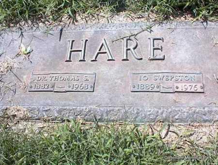 HARE, I O - Crittenden County, Arkansas | I O HARE - Arkansas Gravestone Photos