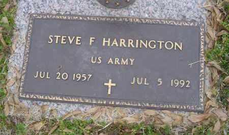 HARRINGTON (VETERAN), STEVE - Crittenden County, Arkansas | STEVE HARRINGTON (VETERAN) - Arkansas Gravestone Photos