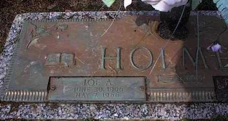 HOLMES, JOE A - Crittenden County, Arkansas | JOE A HOLMES - Arkansas Gravestone Photos