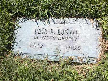 HOWELL, OBIE R - Crittenden County, Arkansas | OBIE R HOWELL - Arkansas Gravestone Photos
