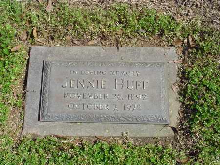HUFF, JENNIE - Crittenden County, Arkansas | JENNIE HUFF - Arkansas Gravestone Photos