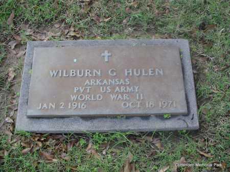 HULEN (VETERAN WWII), WILBURN G - Crittenden County, Arkansas | WILBURN G HULEN (VETERAN WWII) - Arkansas Gravestone Photos