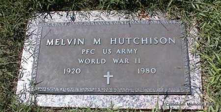 HUTCHISON (VETERAN WWII), MELVIN M - Crittenden County, Arkansas | MELVIN M HUTCHISON (VETERAN WWII) - Arkansas Gravestone Photos