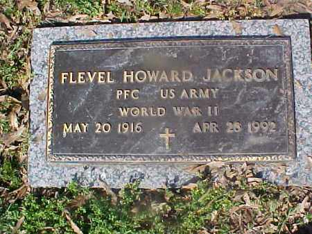 JACKSON, FLEVEL HOWARD - Crittenden County, Arkansas | FLEVEL HOWARD JACKSON - Arkansas Gravestone Photos