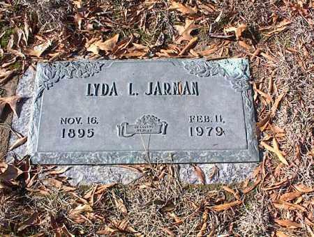 JARMAN, LYDA L. - Crittenden County, Arkansas   LYDA L. JARMAN - Arkansas Gravestone Photos