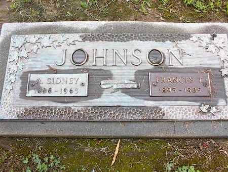 JOHNSON, A SIDNEY - Crittenden County, Arkansas | A SIDNEY JOHNSON - Arkansas Gravestone Photos