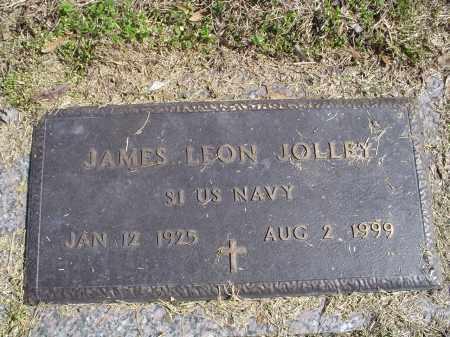 JOLLEY (VETERAN), JAMES LEON - Crittenden County, Arkansas | JAMES LEON JOLLEY (VETERAN) - Arkansas Gravestone Photos