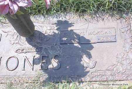 MORGAN JONES, GLADYS - Crittenden County, Arkansas | GLADYS MORGAN JONES - Arkansas Gravestone Photos