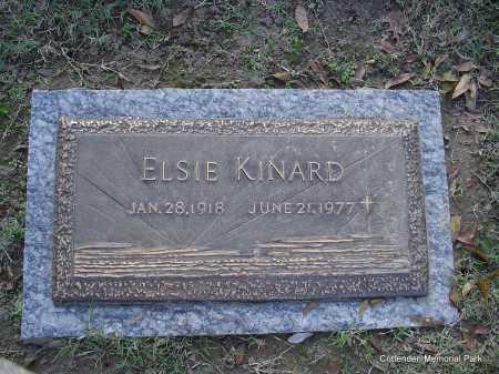 KINARD, ELSIE - Crittenden County, Arkansas   ELSIE KINARD - Arkansas Gravestone Photos
