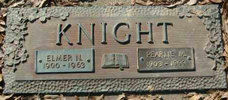 KNIGHT, ELMER NEWTON - Crittenden County, Arkansas | ELMER NEWTON KNIGHT - Arkansas Gravestone Photos