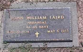 LAIRD (VETERAN), JOHN WILLIAM - Crittenden County, Arkansas   JOHN WILLIAM LAIRD (VETERAN) - Arkansas Gravestone Photos