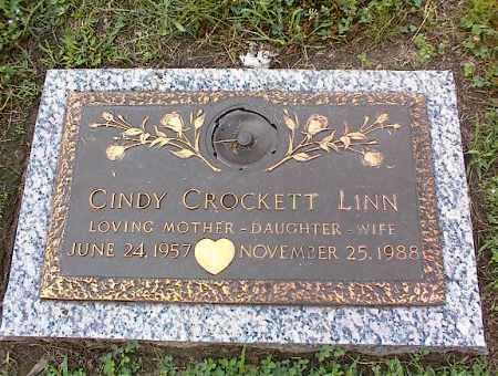 CROCKETT LINN, CINDY - Crittenden County, Arkansas   CINDY CROCKETT LINN - Arkansas Gravestone Photos