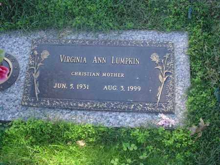 LUMPKIN, VIRGINIA ANN - Crittenden County, Arkansas   VIRGINIA ANN LUMPKIN - Arkansas Gravestone Photos