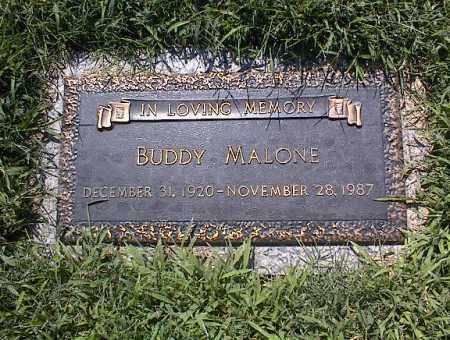 MALONE, BUDDY - Crittenden County, Arkansas | BUDDY MALONE - Arkansas Gravestone Photos