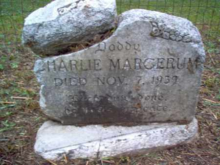 MARGERUM, CHARLIE - Crittenden County, Arkansas | CHARLIE MARGERUM - Arkansas Gravestone Photos