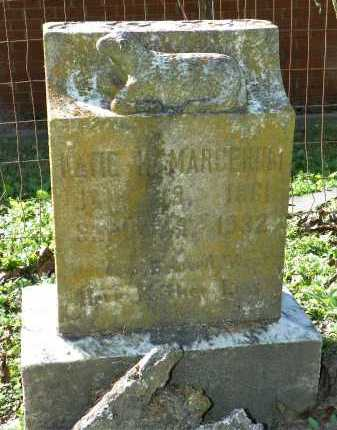 MARGERUM, KATIE - Crittenden County, Arkansas   KATIE MARGERUM - Arkansas Gravestone Photos