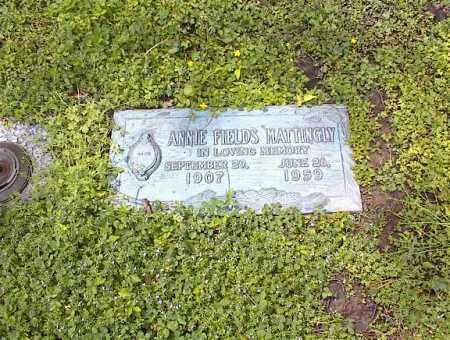 FIELDS MATTINGLY, ANNIE - Crittenden County, Arkansas | ANNIE FIELDS MATTINGLY - Arkansas Gravestone Photos