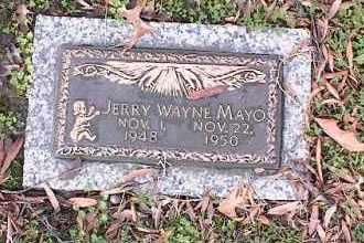 MAYO, JERRY WAYNE - Crittenden County, Arkansas | JERRY WAYNE MAYO - Arkansas Gravestone Photos