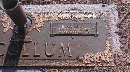 MCCOLLUM, ISABELL - Crittenden County, Arkansas | ISABELL MCCOLLUM - Arkansas Gravestone Photos