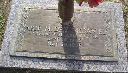 MCDANIEL, ARIE M - Crittenden County, Arkansas | ARIE M MCDANIEL - Arkansas Gravestone Photos