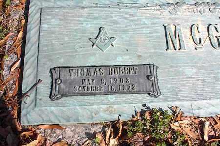 MCGOUGH, THOMAS HUBERT - Crittenden County, Arkansas | THOMAS HUBERT MCGOUGH - Arkansas Gravestone Photos