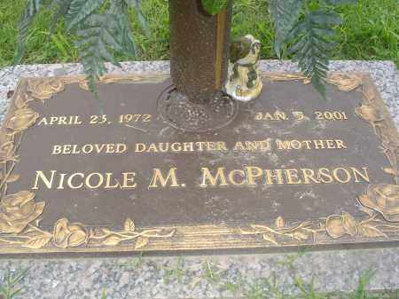 MCPHERSON, NICOLE M. - Crittenden County, Arkansas | NICOLE M. MCPHERSON - Arkansas Gravestone Photos