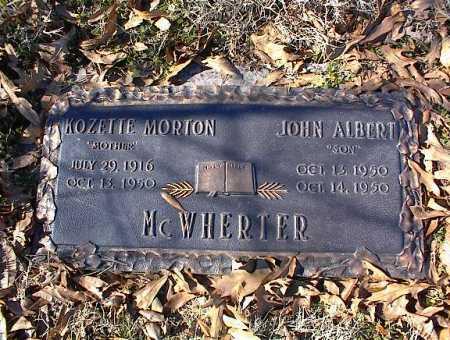 MCWHERTER, KOZETTE - Crittenden County, Arkansas | KOZETTE MCWHERTER - Arkansas Gravestone Photos