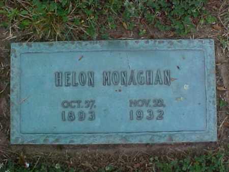 MONAGHAN, HELON - Crittenden County, Arkansas   HELON MONAGHAN - Arkansas Gravestone Photos