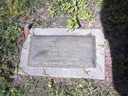 MONTANO, ROBERTO - Crittenden County, Arkansas   ROBERTO MONTANO - Arkansas Gravestone Photos