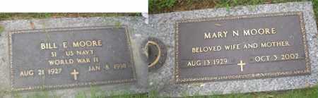 MOORE (VETERAN WWII), BILL E - Crittenden County, Arkansas | BILL E MOORE (VETERAN WWII) - Arkansas Gravestone Photos