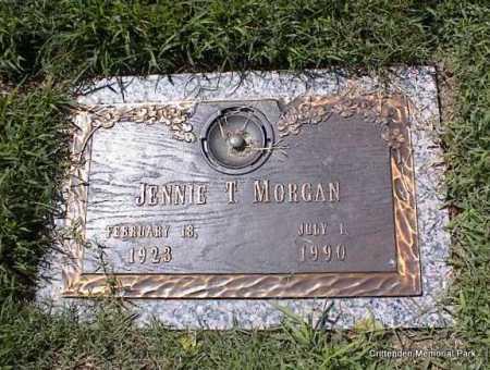 MORGAN, JENNIE T - Crittenden County, Arkansas   JENNIE T MORGAN - Arkansas Gravestone Photos