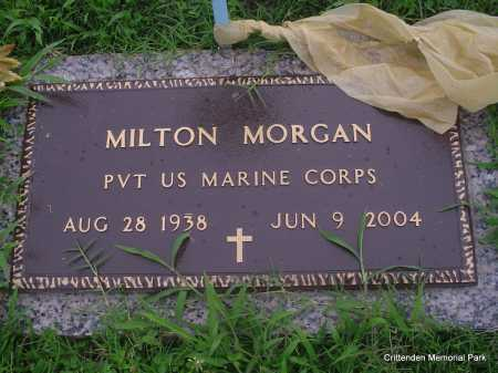 MORGAN (VETERAN), MILTON - Crittenden County, Arkansas | MILTON MORGAN (VETERAN) - Arkansas Gravestone Photos