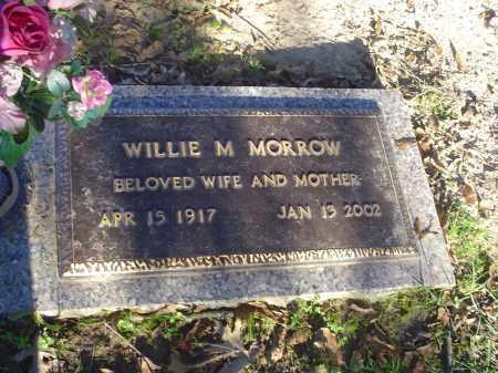 MORROW, WILLIE M - Crittenden County, Arkansas | WILLIE M MORROW - Arkansas Gravestone Photos