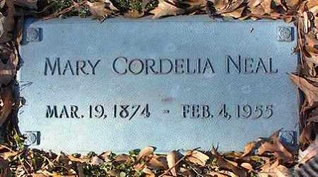 NEAL, MARY CORDELIA - Crittenden County, Arkansas | MARY CORDELIA NEAL - Arkansas Gravestone Photos