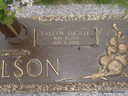 NELSON, EVELYN LUCILLE - Crittenden County, Arkansas | EVELYN LUCILLE NELSON - Arkansas Gravestone Photos
