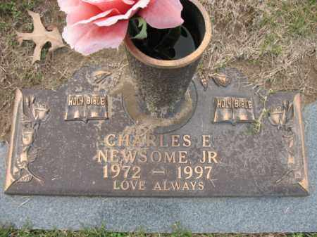 NEWSOME, JR, CHARLES E - Crittenden County, Arkansas | CHARLES E NEWSOME, JR - Arkansas Gravestone Photos